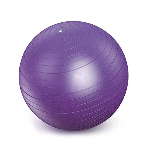 Best Price Yoga Ball,Gym Ball Anti-Burst Swiss Ball Yoga Ball Fitness Ball with Hand Pump Home Gym O...