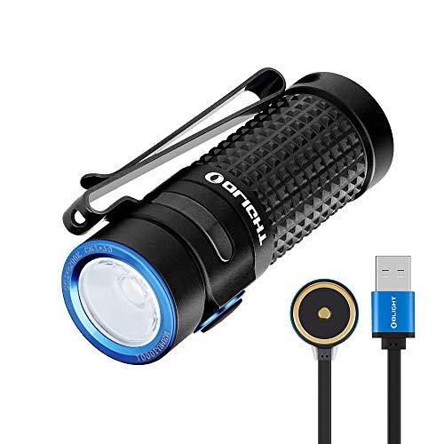 OLIGHT S1R Baton II LED Taschenlampe 1000 Lumen 145 Meter Reichweite, 8 Tage Laufzeit, USB Magnetische Aufladbare Mini Taschenlampen, inkl. Batterien