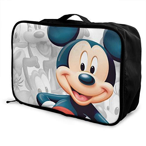Topolino da viaggio alla moda, leggero, grande capacità, portatile, impermeabile, pieghevole, per trasportare bagagli, borsone da viaggio – graffiti anime fumetti