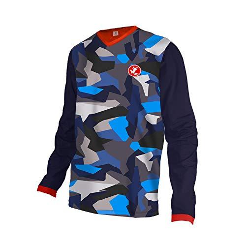 Uglyfrog Camisetas Paño Grueso y Suave de Invierno Shirt Equipación para Montar En Bicicleta y Motocross MTB Downhill Jersey 148-19HSJFZR11