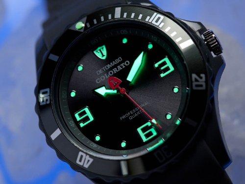 DeTomaso Colorato L – Reloj analógico de Cuarzo Unisex, Correa de