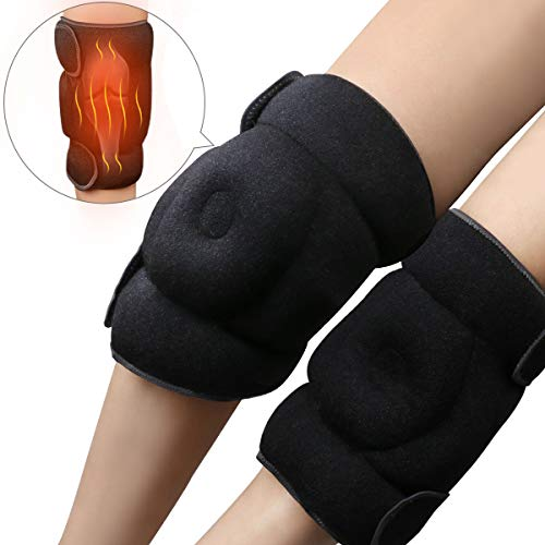 REVIX Microwavable Heat Wrap for Knee Pain Relief and Arthritis, Hot or Cold Packs for Knees, Elbows and Hands of Women and Men