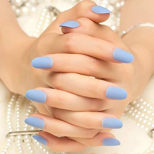 DKHF Valse nagels 24 stks elegante wijnrood nieuwjaar nep nagels druk op nagel kunstmatige nail tips met lijm sticker faux