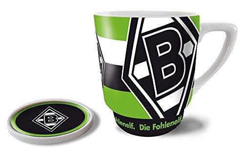 Kaffeebecher mit Deckel Borussia M´gladbach