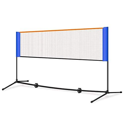 Marker Badminton Net-Rack, beweglichen Faltbare Innen- und Außen Venue-Strand-Volleyball Net-Rack, einfachen Net-Rack geeignet for Kinder und Erwachsene