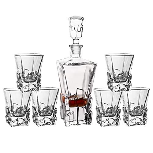 Copas De Vino Degustación, Jarras De Cerveza, Juegos De Jarra De Whisky De Cristal, Regalo De Copa De Vino para Cumpleaños, Aniversario, Boda, Navidad, Llevar Botella De Vino