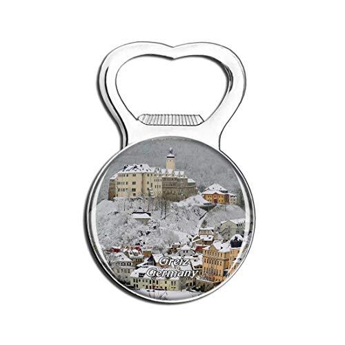 Weekino Schloss Greiz Deutschland Bier Flaschenöffner Kühlschrank Magnet Metall Souvenir Reise Gift