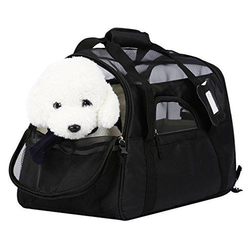 OUTAD Bolsa de Transporte para Mascotas Perros Gatos Transportín Plegable...