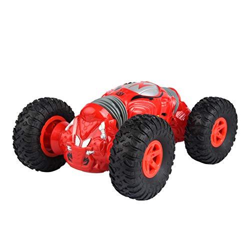 LILIJIA Coche de Acrobacias Radio Control 4WD 2.4Ghz,Biónico Columna Vertebral Diseño Hacer Frente fácilmente a diversas Condiciones de la Carretera. Juguete Apto para niños y Adultos,Rojo