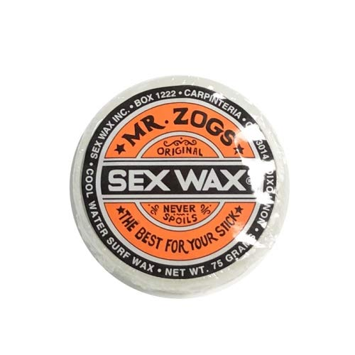 SEX WAX(セックスワックス) クラシック サーフィン ワックス CLASSIC WAX クール(春・秋用)