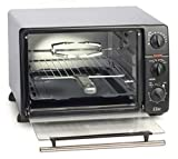 Maxi-Matic ERO-2008N Countertop Toaster Oven, 60-Min Timer with Stay-On Function...