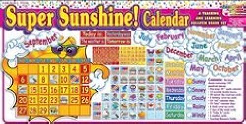 toma SUPER SUNSHINE CALENDAR BULLETIN BO BO BO by TEACHERS FRIEND  oferta especial