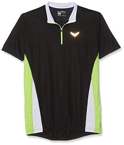 Trigema Herren T-Shirt, Schwarz (Schwarz 008), Gr. Small