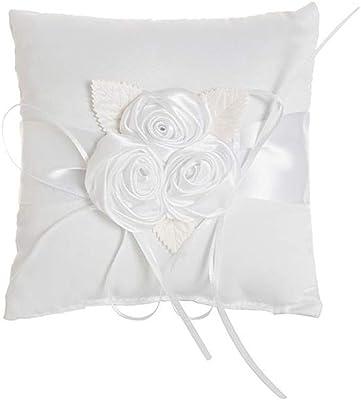 Amazon.com: Dimart - Cojín para anillo de boda, diseño de ...