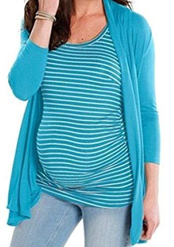 9 Monate 2tlg. Umstandstop/Umstandsjacke Gr. 44/46 NEU Schwangerschaft Jacke Shirt