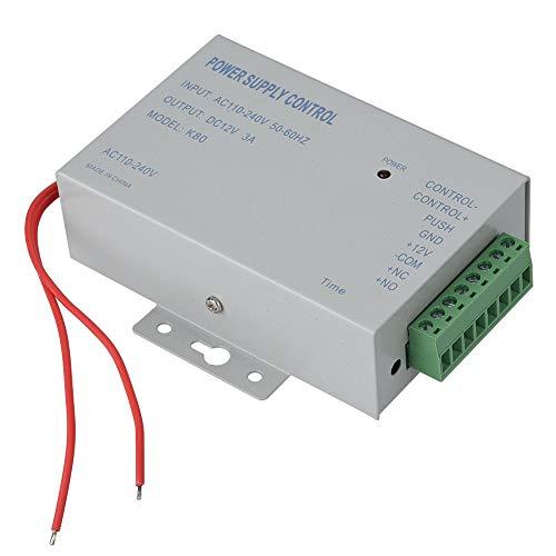 Sistema de control de acceso a la puerta de la fuente de alimentación AC110V-240V Salida Controlador de la fuente de alimentación DC 12V 3A 30W