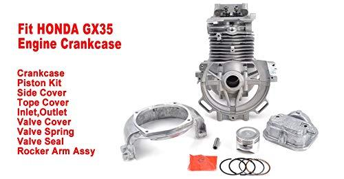GX35 Desbrozadora Motor Cárter UMK435T Cilindro cortador de hierba Pistón...
