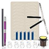Eyebrow Microblading Kit - Anghie 15pcs Eyebrow...