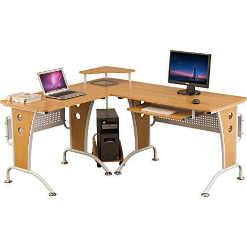 Piranha Trading Unicorn Corner Desk Oak PC21o