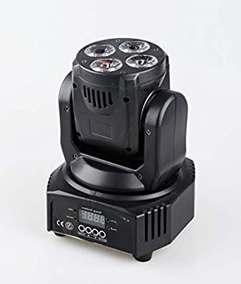 Led Moving Wash,4x15w Mini Moving Head,RGBWA+UV 6IN1, Use For Disco, Ballroom, KTV, Bar,Club, Party, Wedding