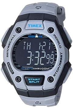 Timex Men s TW5M24300 Ironman Classic 30 Gray/Black/Negative Resin Strap Watch