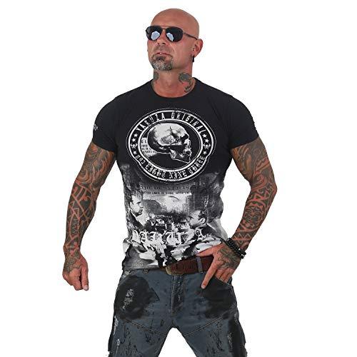 Yakuza Herren T-Shirt Italian Job TSB 12016 (Gr. L, Schwarz)