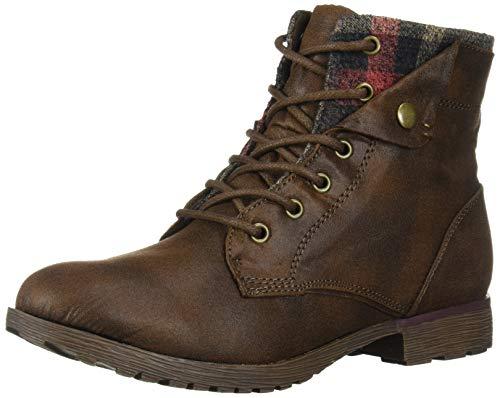 Rock & Candy Women's Tavin Backpacking Boot, Brown Vestin, 6.5 Medium US