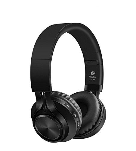 Sound One BT-06 Bluetooth Headphones (Red)