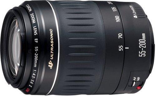 Canon EF レンズ 55-200mm F4.5-5.6II USM