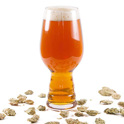IPA Beer Glass   Proper Beer Glassware For IPA Beers   Holds Up To 19.1 oz   Ideal Gift for Craft Beer Lovers   Brings The Best Aromas and Flavors Out Of IPA Beers