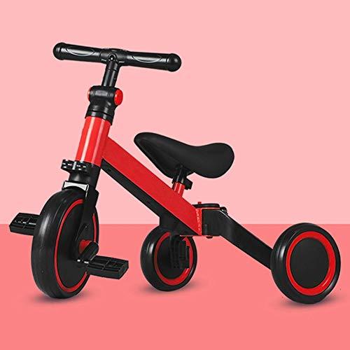 3 in 1 Kids Driewielers voor 1-3 jaar oude kinderen Trike 3 Wheel Toddler Bike Jongens Meisjes Trikes voor peuter driewielers Baby van de Fiets Trike