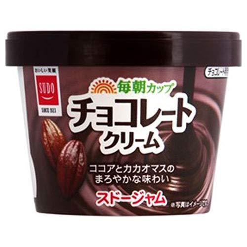 スドージャム スドー 毎朝カップ チョコレートクリーム 135g×12個入×(2ケース)