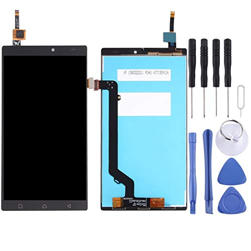 ASAMOAH Cell Phone Replacement Part LCD Screen and Digitizer Full Assembly for Lenovo K4 Note / A7010 Phone Accessories (Color : Black)