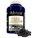 Alvizia ZMA Supplement for men - 90 Softgel Capsules,Zinc Magnesium Vitamin B6 Supplement