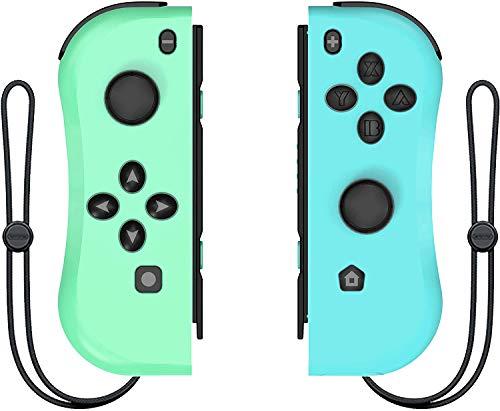 Wireless Controller für Nintendo Switch, ANTCOOL 2er-Set Links Rechts Kabelloser Bluetooth Gamepad Joystick Controller Kompatibel mit Switch