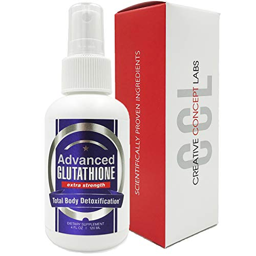 CCL Advanced Glutathione Spray Supplement | Most Effective Pure Reduced L-Glutathione- Nano Pure Absorption. Powerful Antioxidant Includes N-Acetyl Cysteine Better Than Pills, Powders, and Capsules