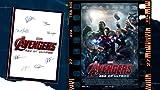 Avengers Age of Ultron Filmposter und Autogramm, signierter