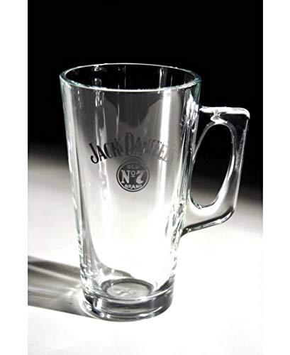 Jack Daniels Kaffeeglas mit Henkel (1 Glas) von GarageBar