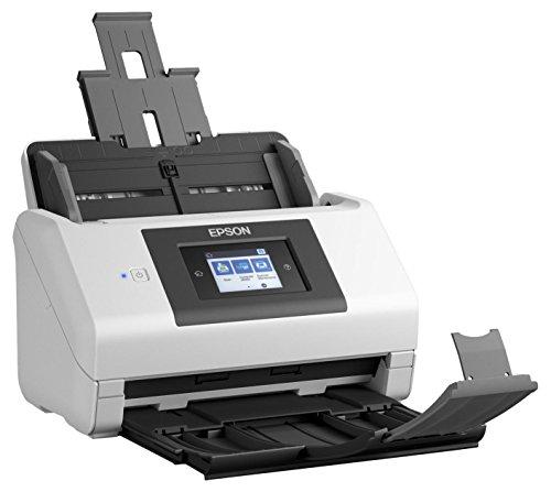 Epson Workforce DS-780N Scanner Schwarz, Weiß