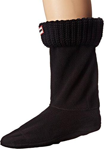 Hunter Unisex Socken HALF CARDIGAN schwarz M
