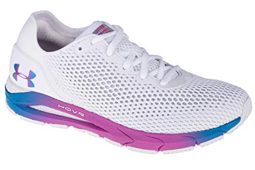 Under Armour Mujer 3023998-100_36,5 Running Shoes White, 36,5 EU