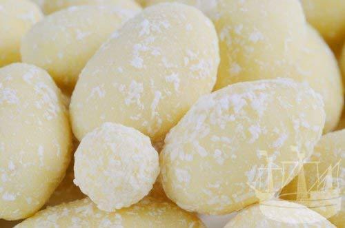 Schokolierte Nüsse, weiße Mandeln mit Kokosflocken in weißer Schokolade, 150g - Bremer Gewürzhandel