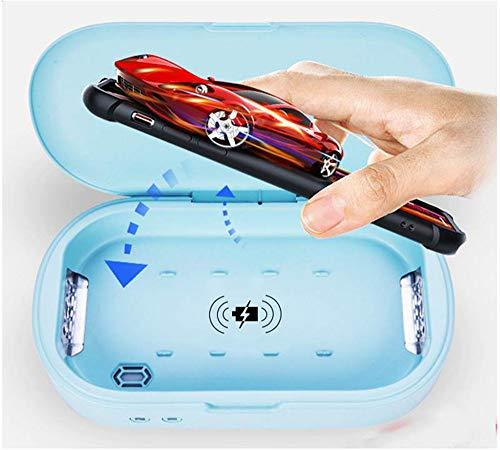 Mobiele telefoon sterilisator, huishoudelijke schoonmaakmiddelen telefoon sterilisatie box 10W draadloos snel opladen voor draadloze oplader mobiele telefoon sterilisator
