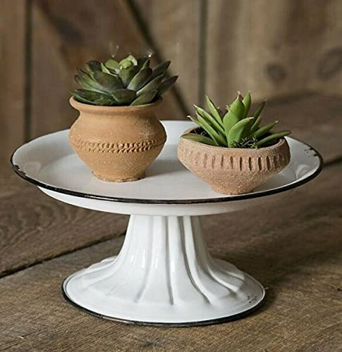 Cottage Candle Stand Pedestal Award shop for Chic Chippy Shabb Pillar White