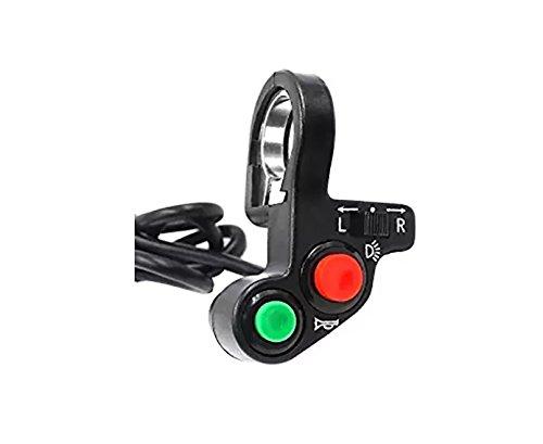 Interruptor de luz de Encendido/Apagado multifunción DE 7/8 Pulgadas para Motocicleta Offroad