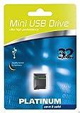Platinum 32GB Mini USB-Stick USB 2.0 schwarz