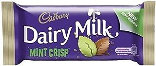 Cadbury Dairy Milk Mint Crisp Standard Bar (Irish) - 49g (Pack of 6)