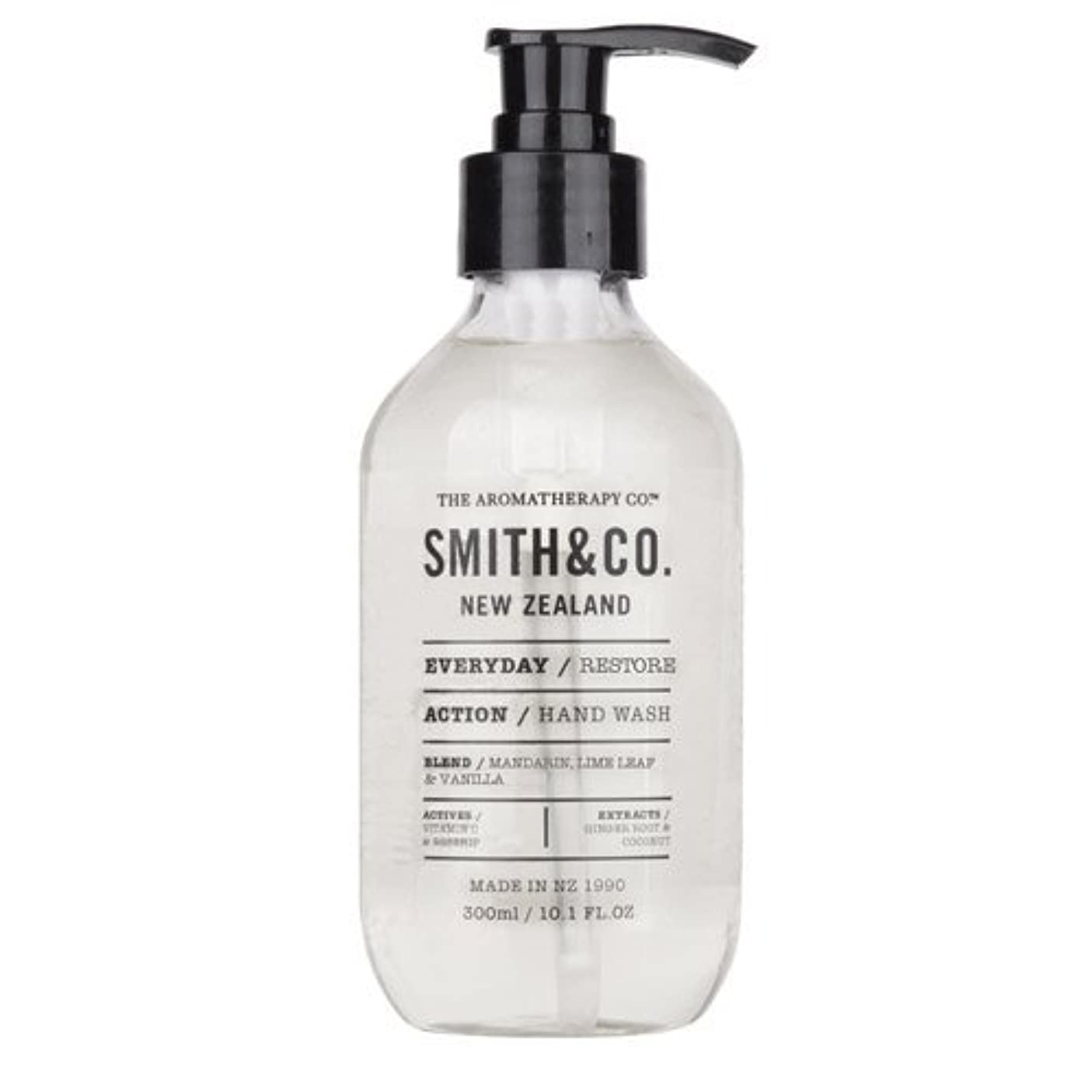 オーガニック用心するいうSmith&Co. スミスアンドコー Hand&Body Wash ハンド&ボディウォッシュ Restore リストア