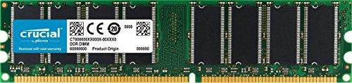 Crucial Technology 103486 1GB 400Mhz PC3200 DDR RAM - CT12864Z40B