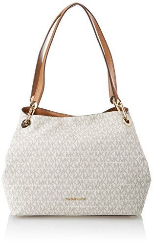 12 inches wide x 10.5 inches high x 4.5 inches deep Tote bag Double top handles Top magnetic closure 18K gold hardware